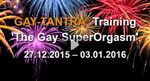 GAY-TANTRA Training New Year's Eve 2015 in Berlin