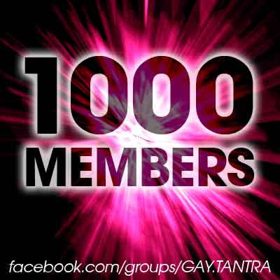 GAY-TANTRA on Facebook: More than 1000 members