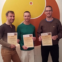 Newly certified GAY-TANTRA massage therapists!