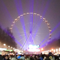 New Year's Eve 2014 at Brandenburg Gate